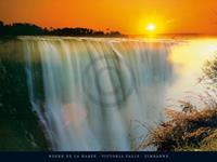 PGM Roger De La Harpe - Victoria Falls, Zimbabwe Kunstdruk 80x60cm