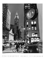 PGM Henri Silberman - Chrysler Clock Kunstdruk 60x80cm