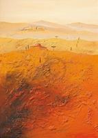 PGM Bernhard Gerner - Mediterrane Landschaft 1 Kunstdruk 50x70cm
