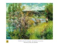 PGM Auguste Renoir - The Seine at Chatou Kunstdruk 80x60cm