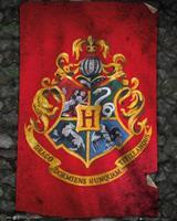 GBeye Harry Potter Hogwarts Flag Poster 40x50cm