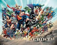 GBeye DC Universe Rebirth Poster 50x40cm