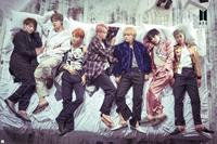 GBeye BTS Group Bed Poster 91,5x61cm