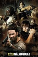 GBeye The Walking Dead Collage Poster 61x91,5cm