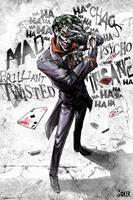 GBeye DC Comics Joker Type Poster 61x91,5cm