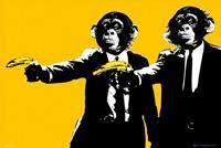 GBeye Monkeys Bananas Poster 91,5x61cm