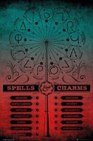 GBeye Harry Potter Spells and Charms Poster 61x91,5cm
