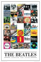 GBeye The Beatles Through the Years Poster 61x91,5cm