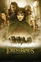 GBeye Lord of the Rings Fellowship of the Ring Poster 61x91,5cm