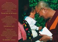 PGM Johannes Frischknecht - Dalai Lama with Child Kunstdruk 70x50cm