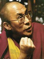 PGM Liby - Dalai Lama Kunstdruk 48x70cm