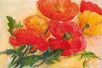 PGM Elisabeth Krobs - Splendid Poppies Kunstdruk 100x70cm