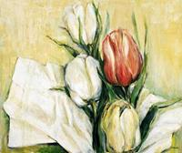 PGM Elisabeth Krobs - Tulipa Antica Kunstdruk 117x98cm