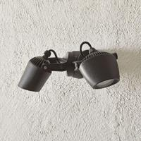 Fumagalli Spot Minitommy-EL 2-lamps CCT zwart/frosted