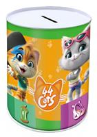Nickelodeon spaarpot 44 Cats junior 15 cm staal
