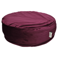 Wants&Needs Pouf Velvet Purple 52 X 52 X 15