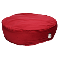 Wants&Needs Pouf Velvet Red 52 X 52 X 15