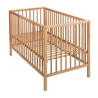Quax babybed Lina - 83x125x65cm - Natuurlijk hout