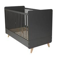 Quax Babybed Loft - 120x60 - 124x95x65 - Antraciet