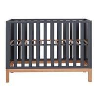 Quax babybed Hip - 90x124x66cm - Donkergrijs