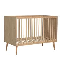Quax Babybed Cocoon - 120x60cm - 89x124x65 - Houtlook: Licht hout