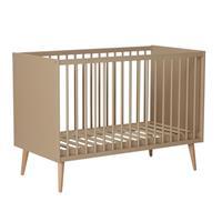 Quax Babybed Cocoon - 120x60cm - 89x124x65 - Lichtbruin
