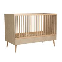 Quax backorder Quax - Babybed Cocoon - 140x70cm - 104x144x75 - Houtlook: Licht hout