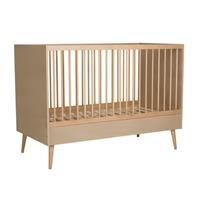 Quax backorder Quax - Babybed Cocoon - 140x70cm - 104x144x75 - Lichtbruin