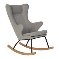 Quax backorder Quax - Schommelstoel DeLuxe voor volwassenen - 70x104x101cm - Grijs