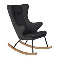 Quax backorder Quax - Schommelstoel DeLuxe voor volwassenen - 70x104x101cm - zwart