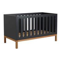 Quax backorder Quax - babybed/bank Indigo - 140x70cm - 88x144x75cm - Donkergrijs