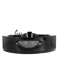 Beliani Whirlpool zwart 140 cm TOCOA