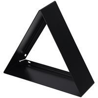 Haceka Duraline Nis Metaal Zwart Driehoek 32x28x10 cm