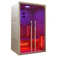 badstuber Ruby infrarood sauna 120x100cm 2 persoons