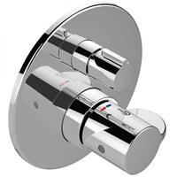 idealstandard Ideal Standard Douchethermostaatkranen inbouw, set 2, rozet ø 163 mm Ceraplus 2