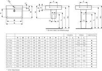 idealstandard Ideal Standard Connect Cube Wastafel 600 mm (met kraangat / zonder overloop, overloopkanaal) (E8103)