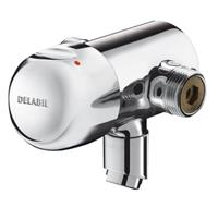 delabie Thermostaatkraan Douche Chroom 70 mm 796000