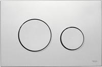 Tece Loop bedieningsplaat mat chroom