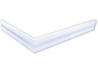 polysan hoekpaneel voor Varesa douchebakken 90x80x11cm rechts