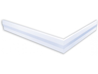 polysan hoekpaneel voor Varesa douchebakken 110x90x11cm links