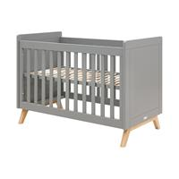 Bopita Fenna Babybed Grey / Naturel 60 x 120 cm