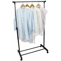 Verrijdbaar kleding hangrek 162 cm - Mobiel kledingrek
