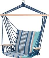 valetti blauw gestreept hangstoel