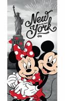 SlaapTextiel Disney Minnie Mouse New York Strandlaken 70 x 140 cm