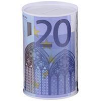 Spaarpot 20 euro biljet 8 x 13 cm - Spaarpotten