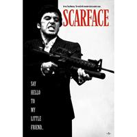 Pyramid Scarface Say Hello to My Little Friend Poster 61x91,5cm