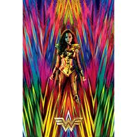 Pyramid Wonder Woman 1984 Neon Static Poster 61x91,5cm