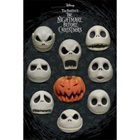 Pyramid Nightmare Before Christmas Many Faces of Jack Poster 61x91,5cm