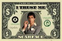 Pyramid Scarface Dollar Poster 91,5x61cm