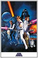 Pyramid Star Wars A New Hope One Sheet Poster 61x91,5cm